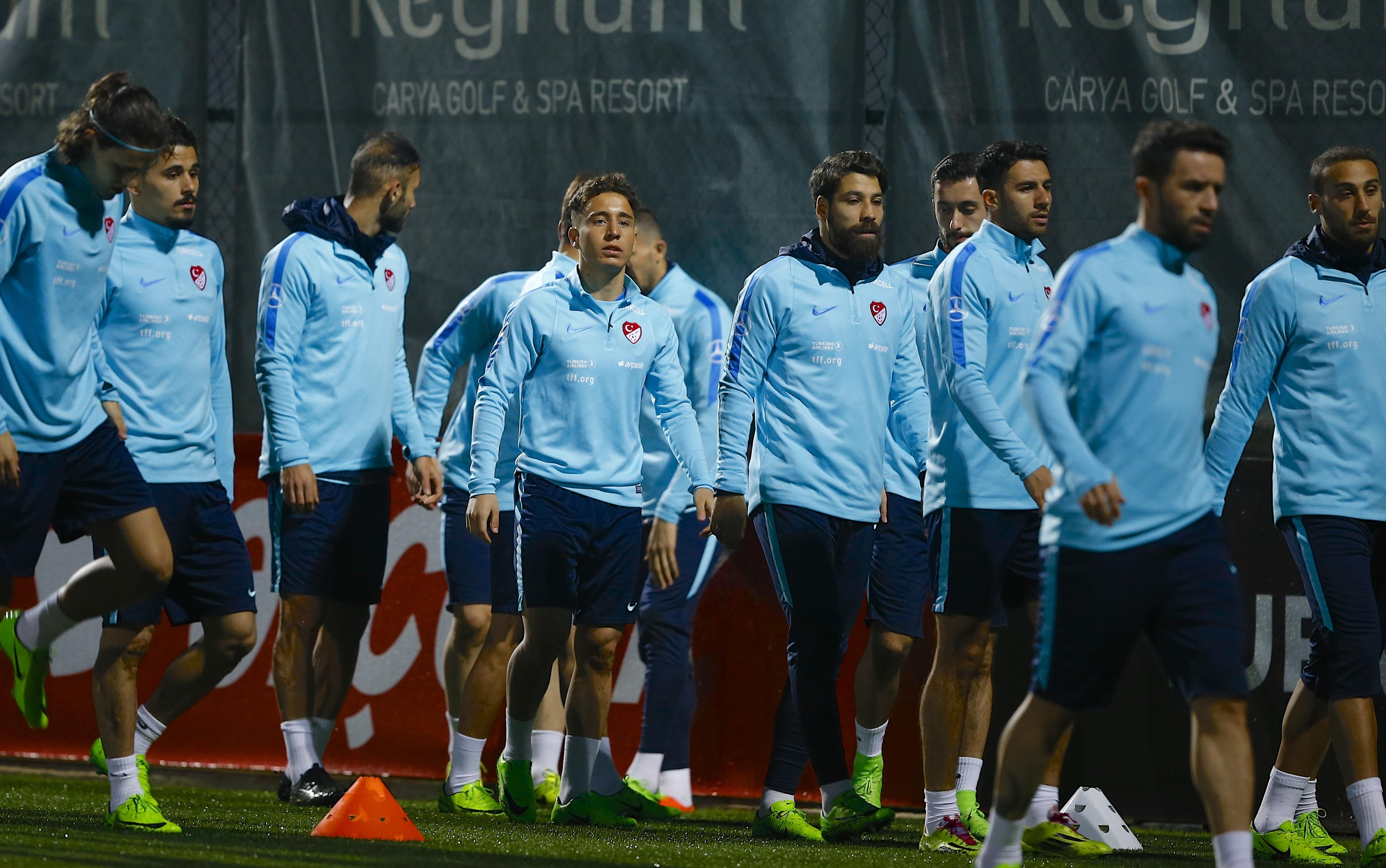 A Milli Takım, Finlandiya maçına hazır!