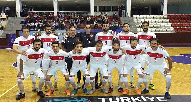 Futsal Milli Takımı'nın hazırlık kampı aday kadrosu açıklandı