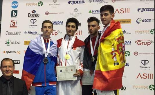 Hakan Reçber Avrupa Şampiyonu