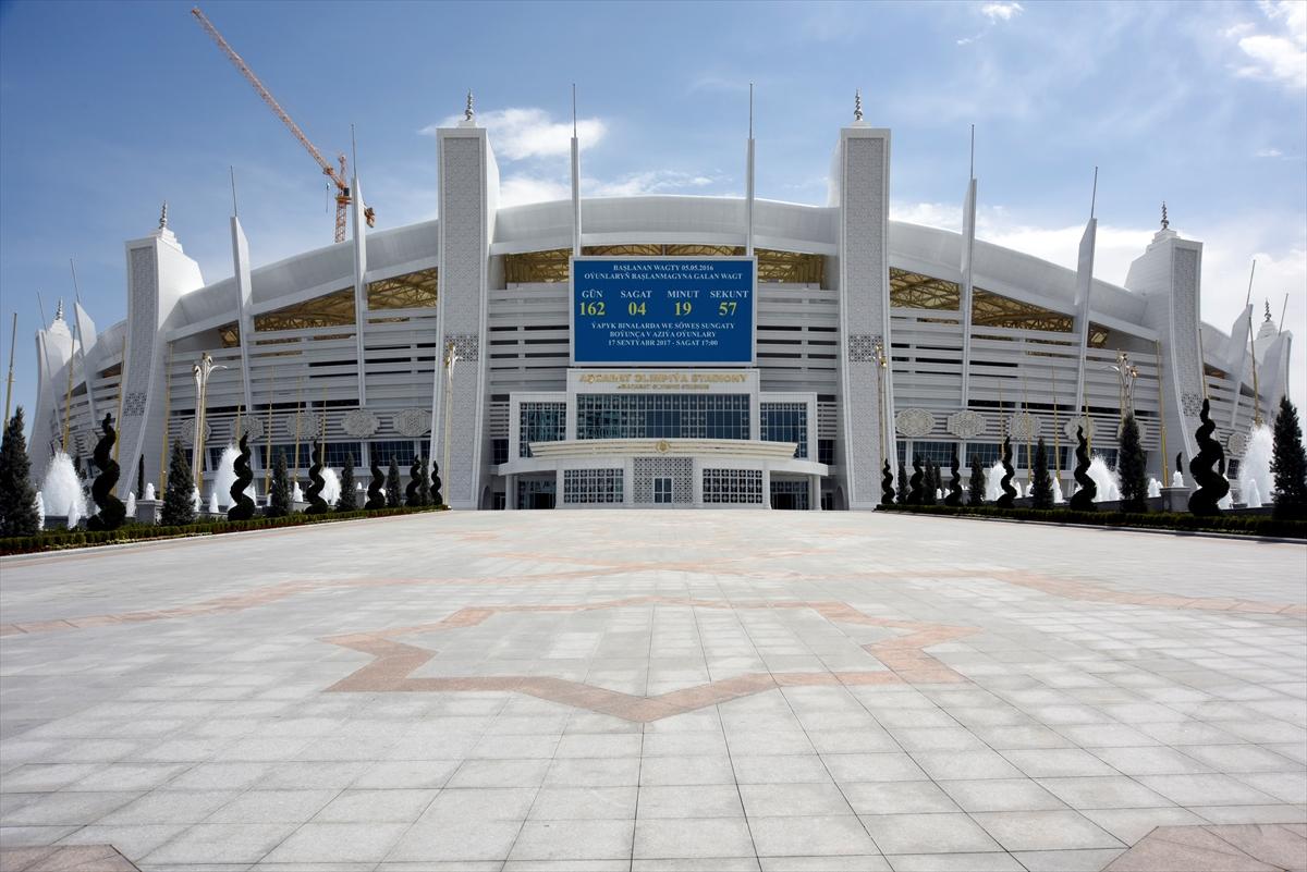 Asya'da olimpiyat kompleksini Türk şirket yaptı!