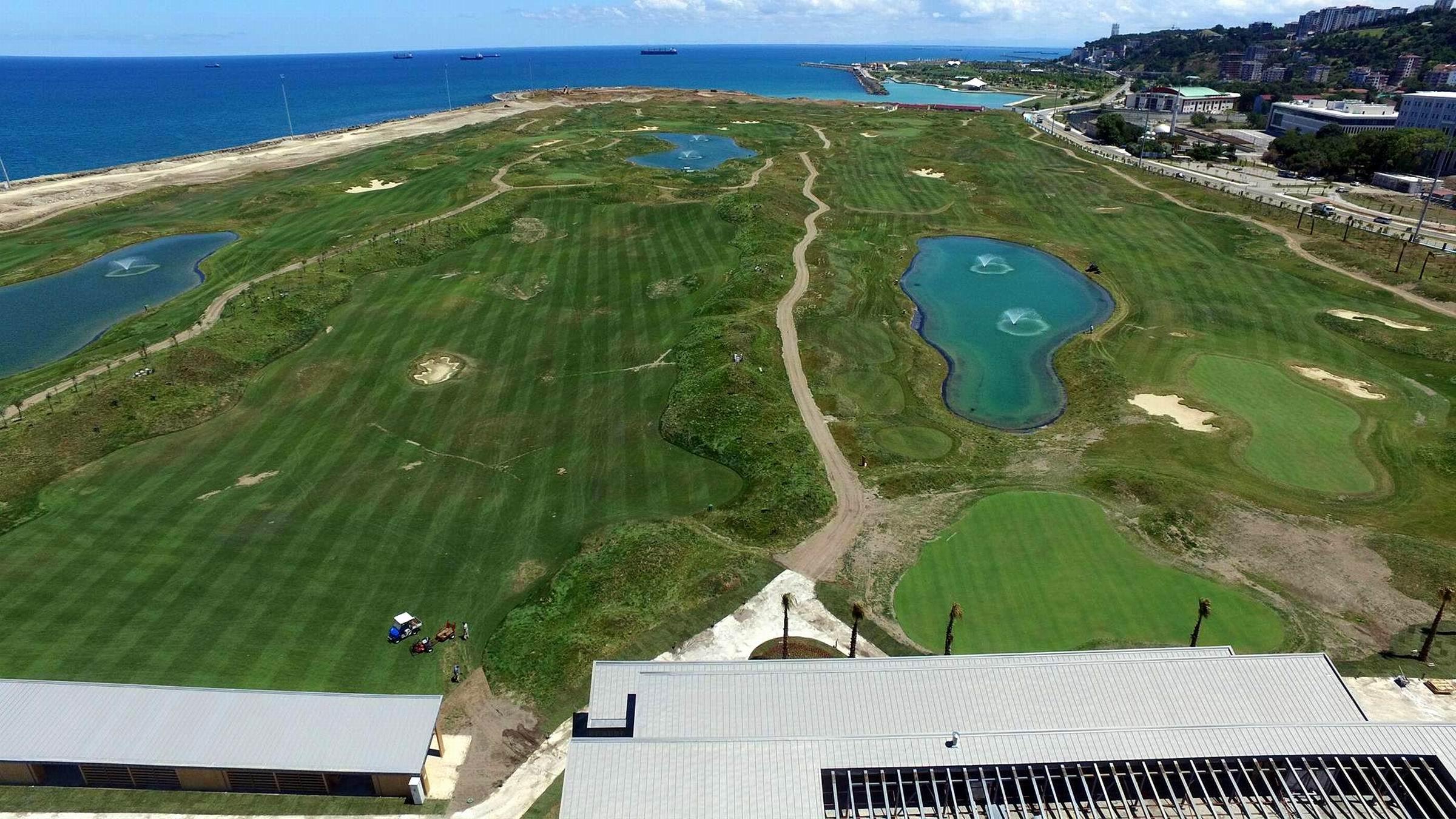 Türkiye Golf Turu'nun 8. ayağı Samsun'da yapıldı