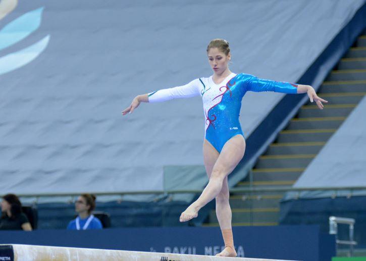 Ritmik cimnastikçilerin Dünya Şampiyonası hazırlıkları