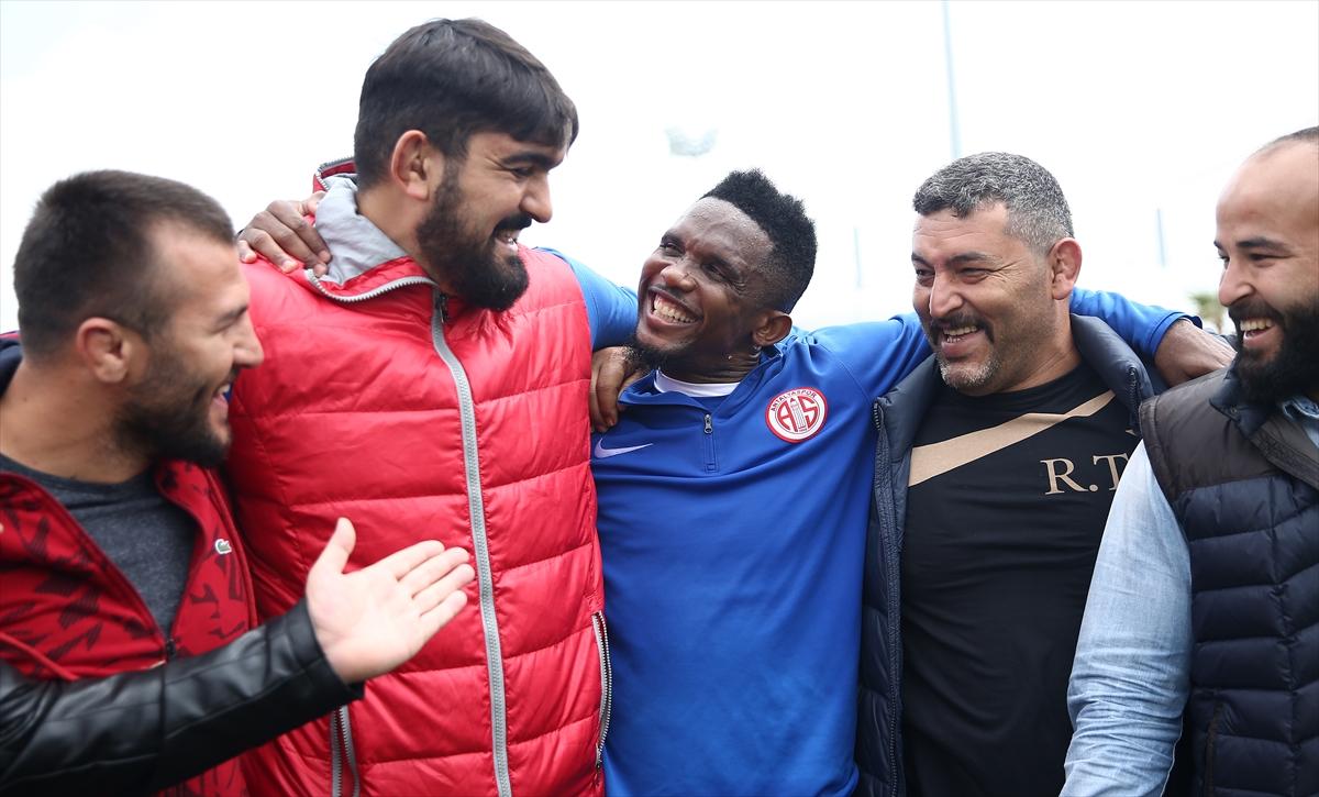 Antalyaspor idmanında güldüren anlar! Eto'o...