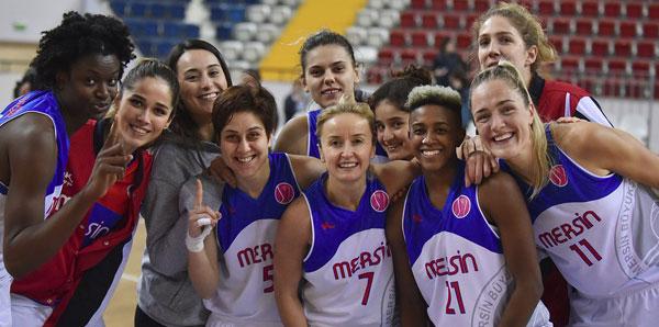 Mersin'de kazanan Büyükşehir Belediyespor!