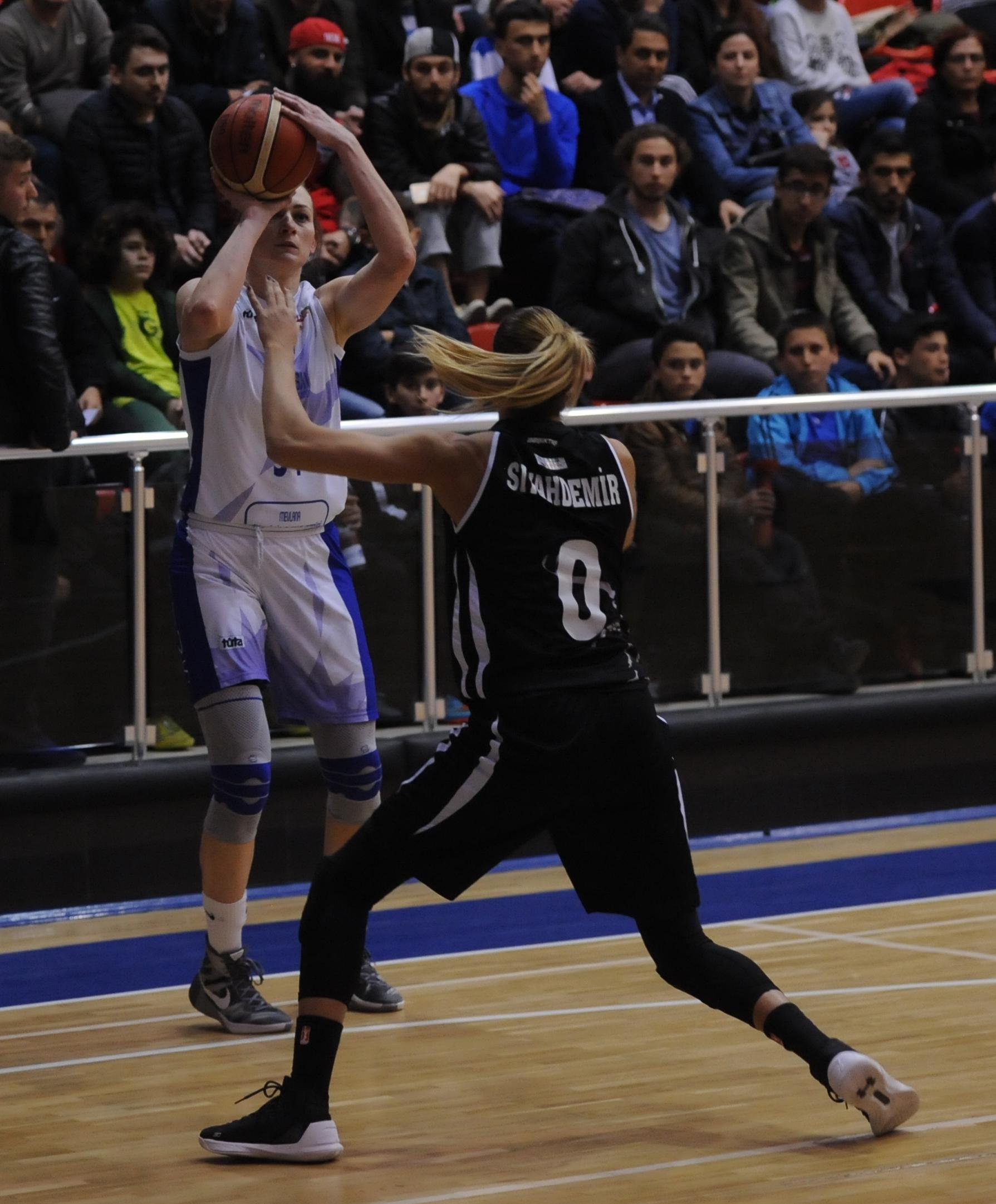 Canik Belediyespor: 53 - Beşiktaş: 66
