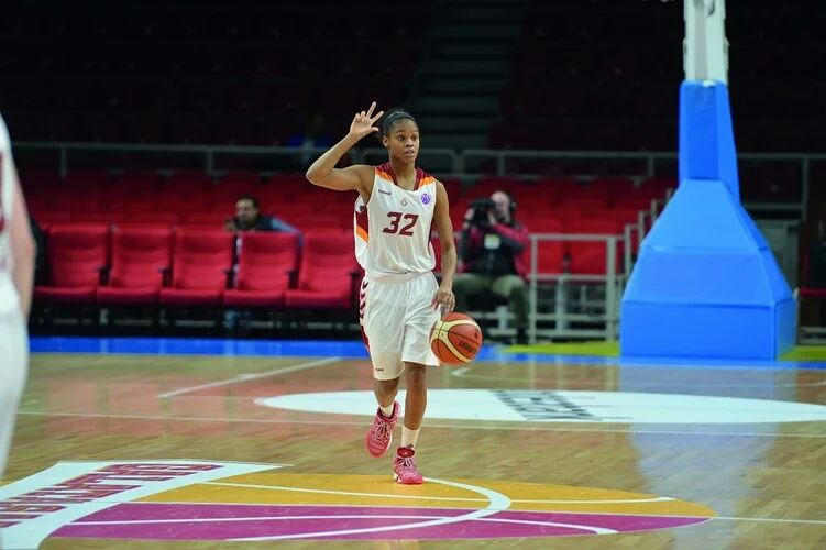 Moriah Jefferson 1 sezon daha Galatasaray'da!