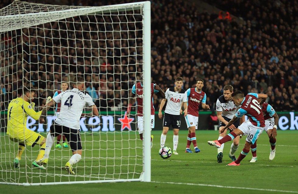 West Ham, golü böyle duyurdu: Jkdhfkjabskdfba