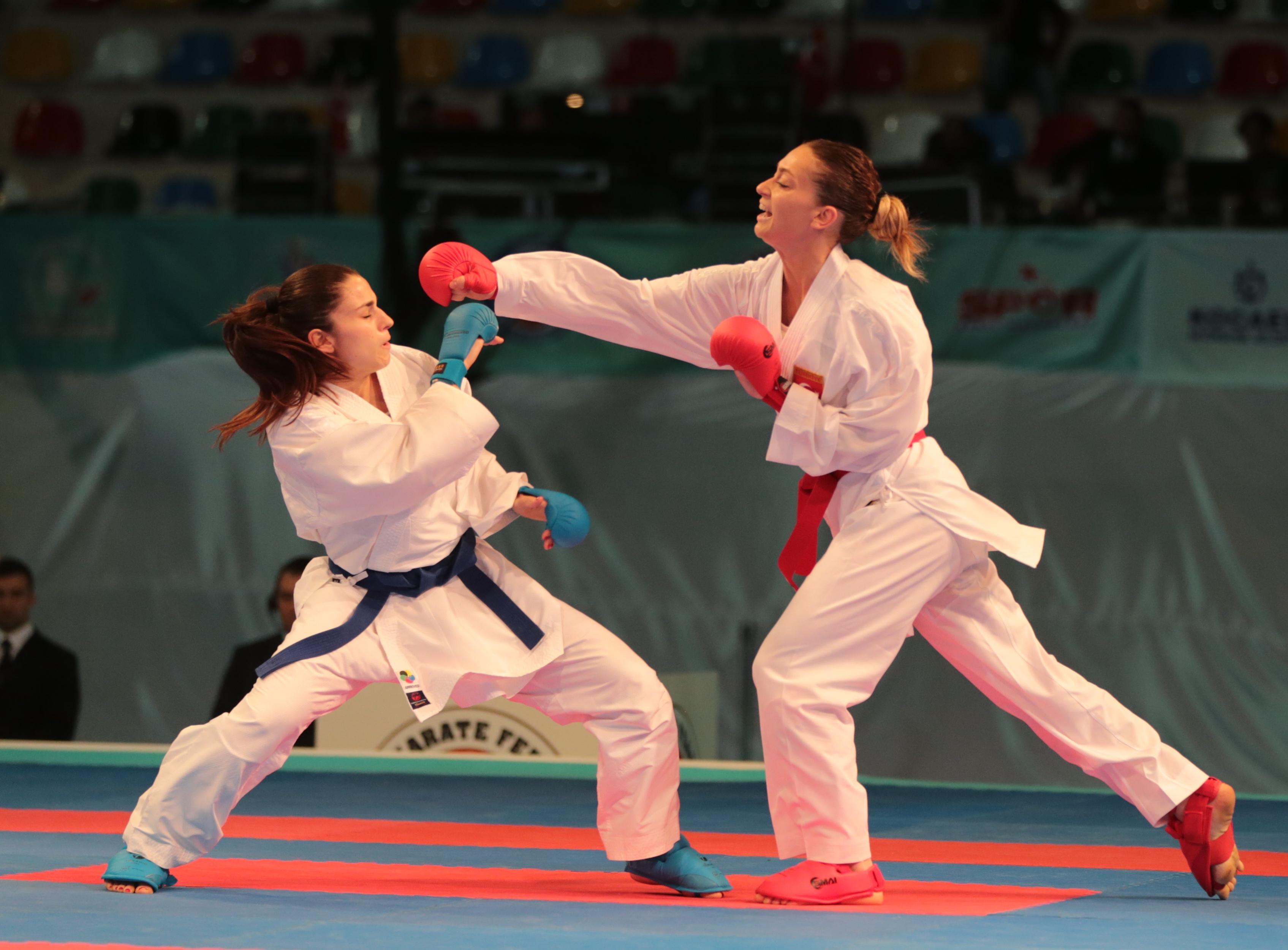Karatede Avrupa üçüncüsü oldu!