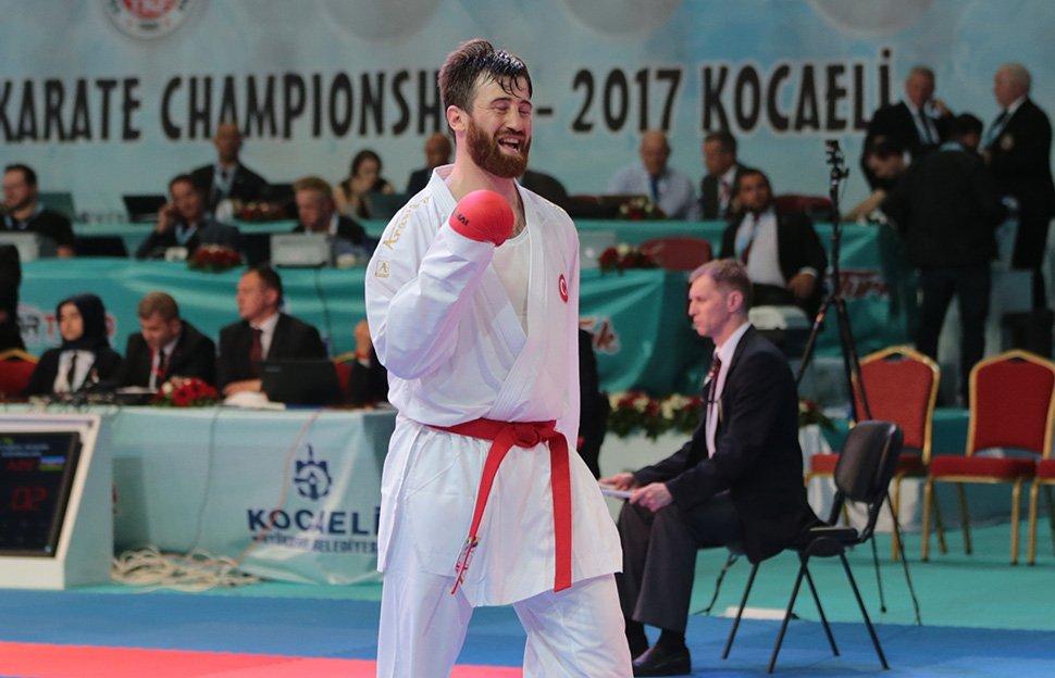 Enes Erkan, Avrupa ikincisi oldu!