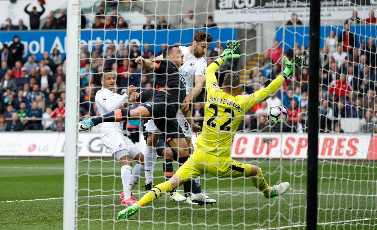 36. Hafta / Swansea-Everton: 1-0