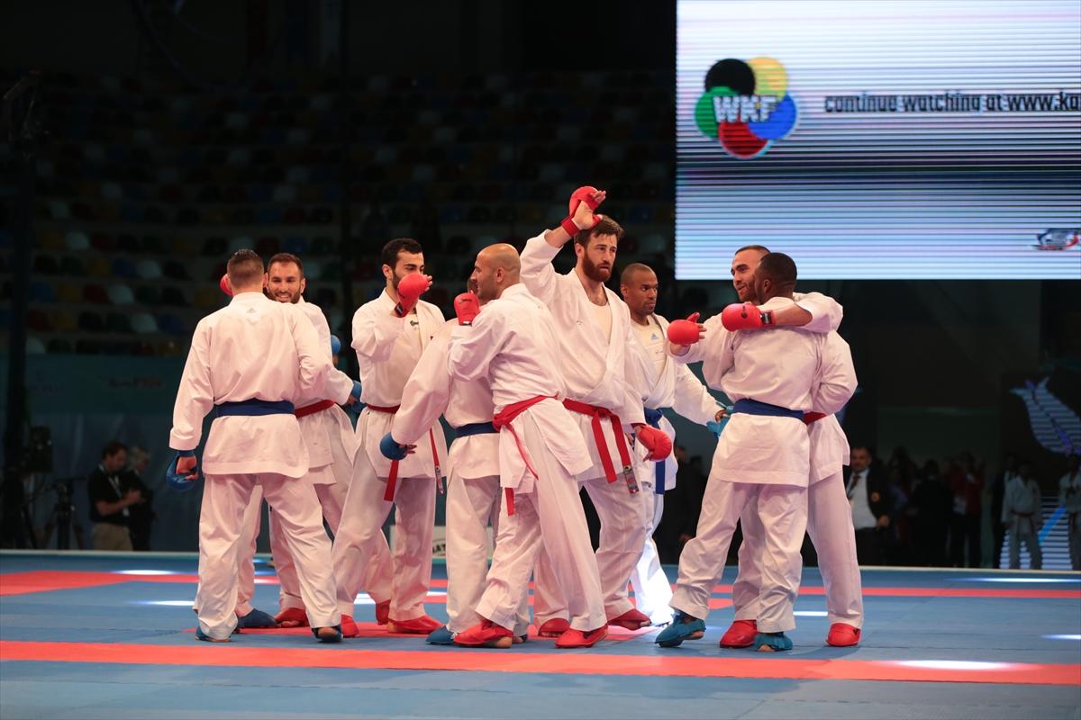 Karatede altın madalya!