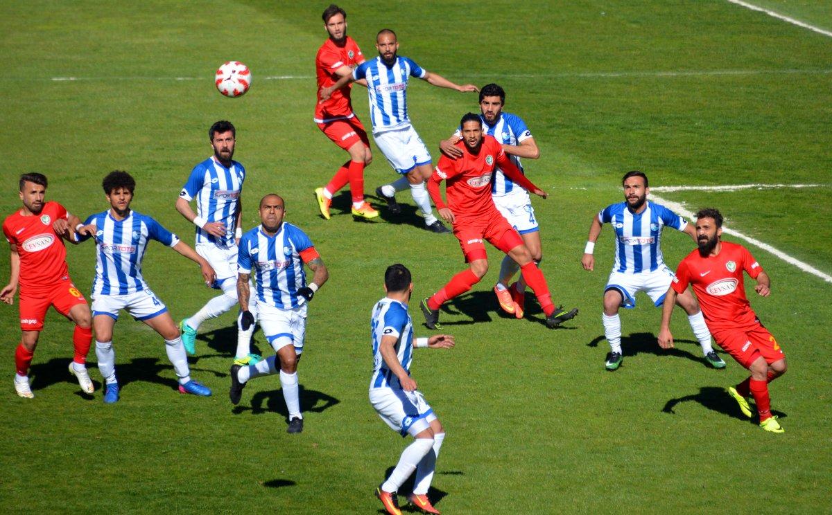 Erzurumspor ilk maçı kazandı!