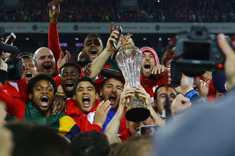 Spartak Moskova kupasını aldı!