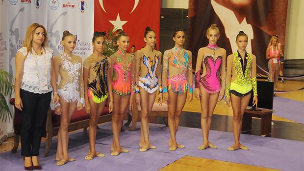 Ritmik cimnastikte Avrupa heyecanı