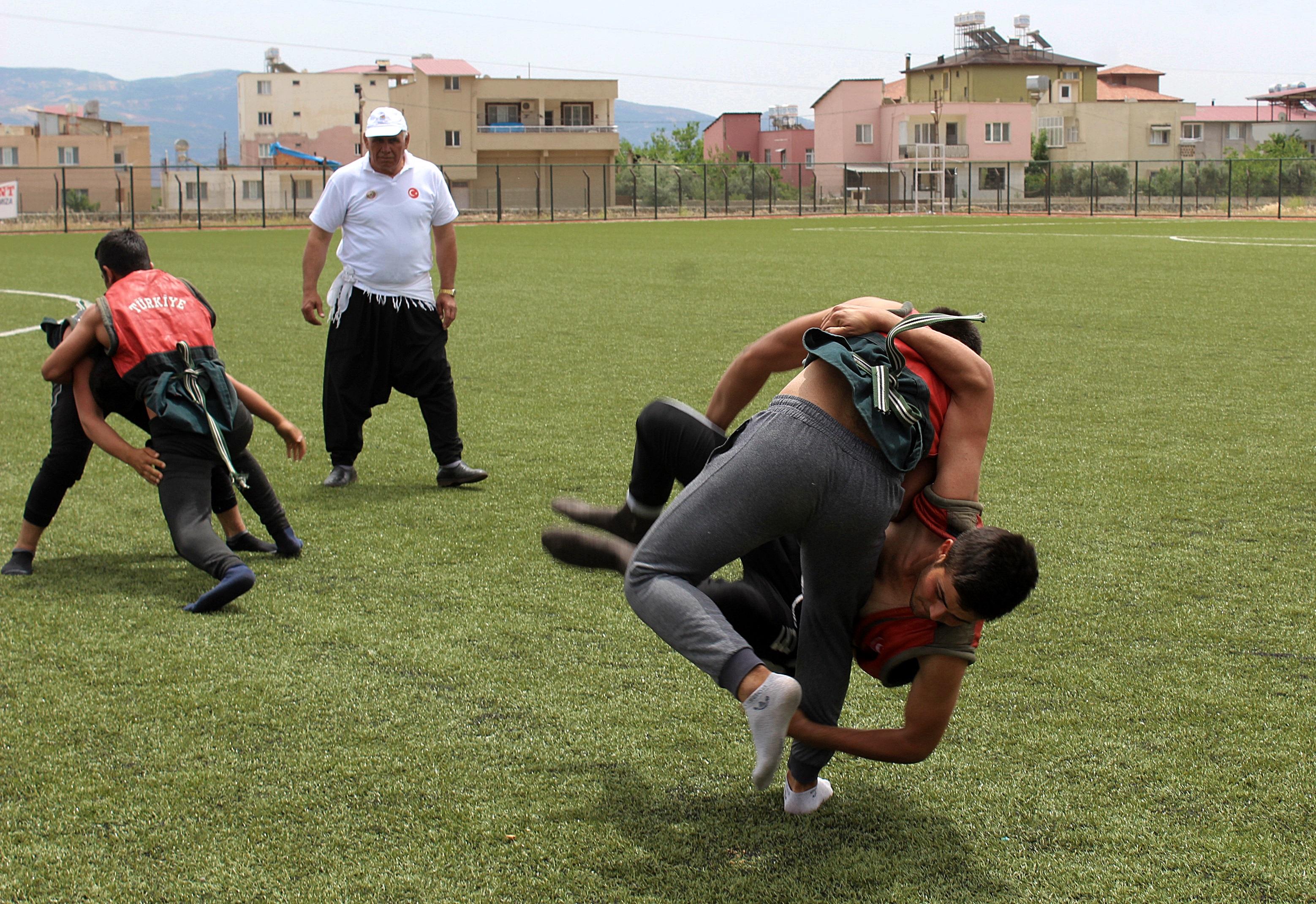 Aba Güreşi Türkiye Şampiyonası sona erdi!