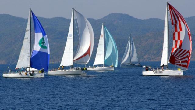 Çeşme'deki yelken yarışları sona erdi