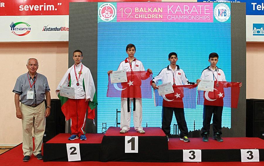 Çocuklar Balkan Karate Şampiyonası başladı!