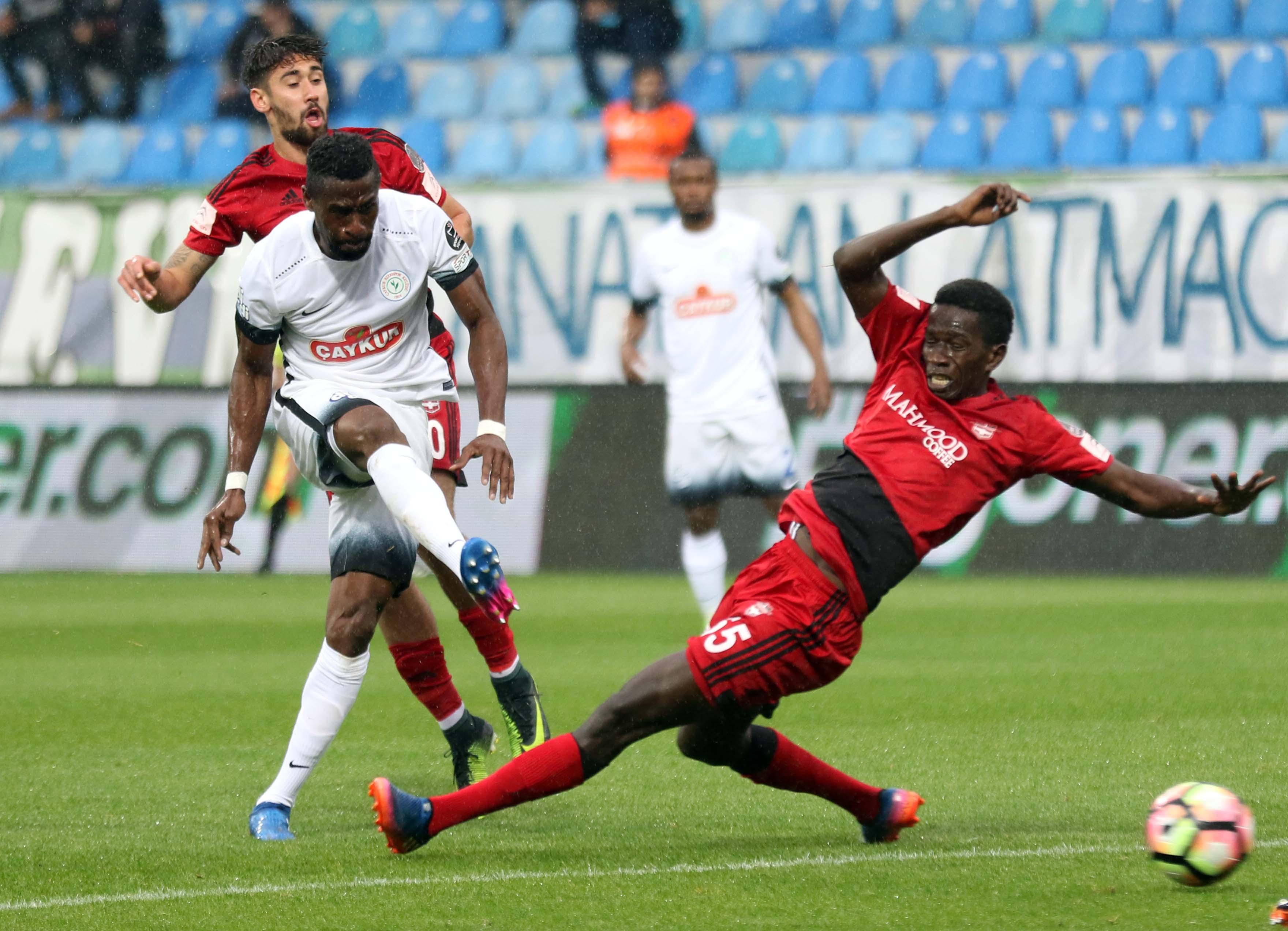 Rizespor kazandı, Gaziantepspor küme düştü!