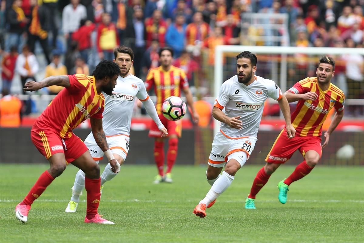 Kayserispor'u Adanaspor durdurdu!
