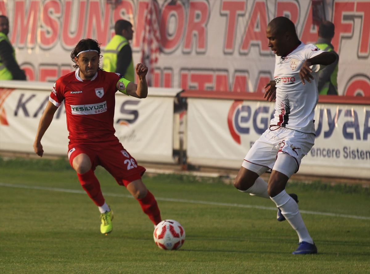 Samsunspor 3'lü averajla kaldı, Bandırma yandı!
