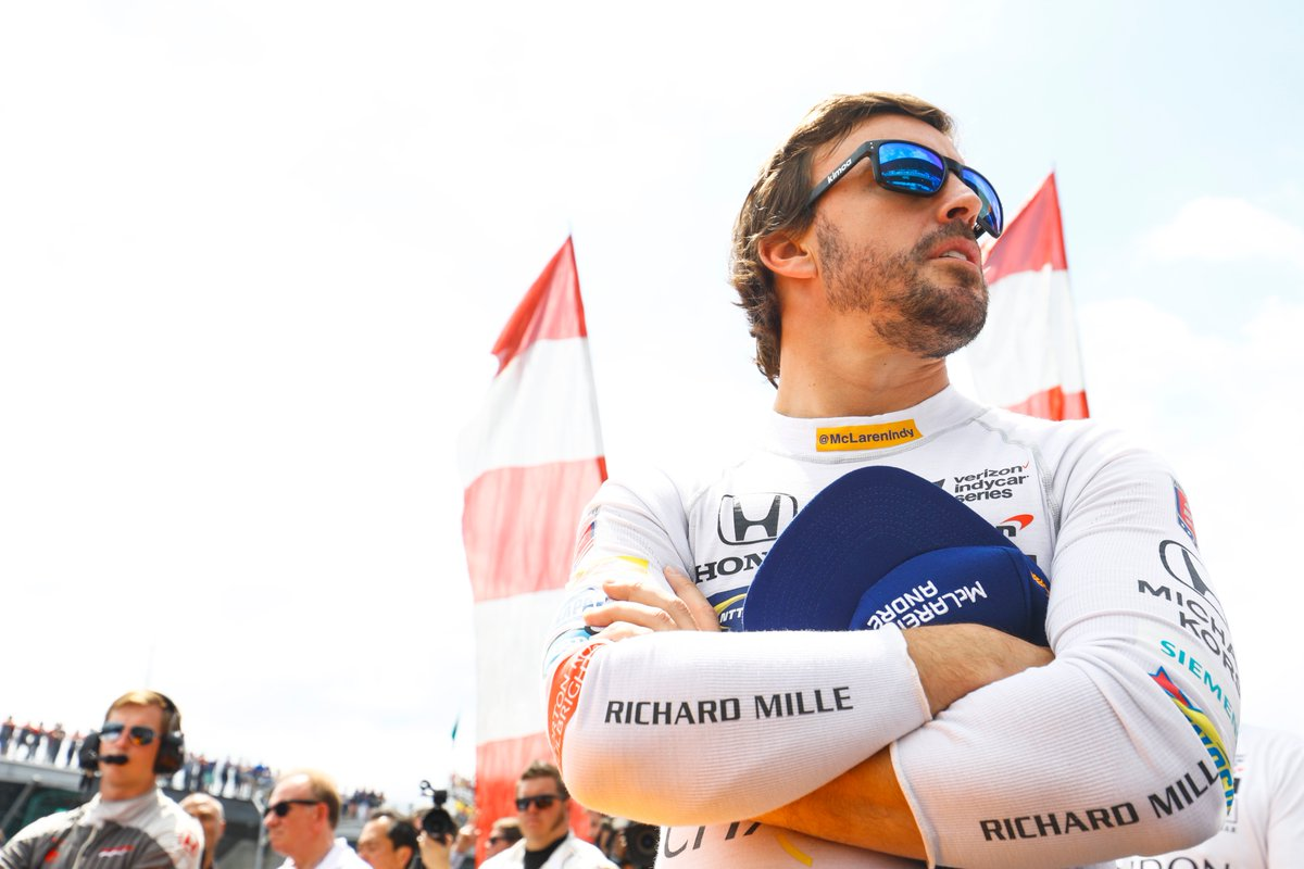 Alonso, Indianapolis 500 yarışını tamamlayamadı