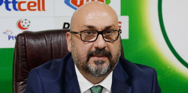 Giresunspor Başkanı Mustafa Bozbağ'dan transfer müjdesi