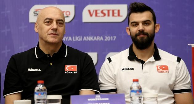 2017 FIVB World League Basın Toplantısı Gerçekleşti!