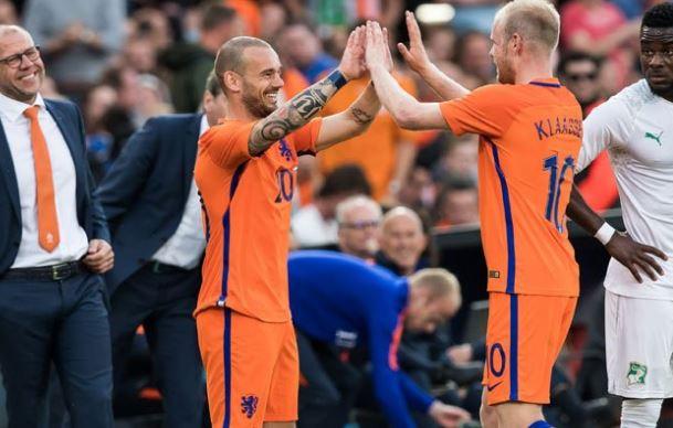 Sneijder rekora ortak oldu!
