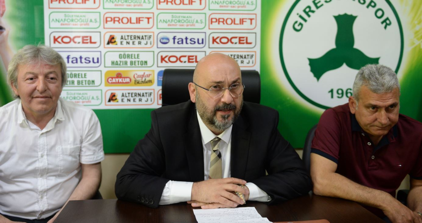 Giresunspor yeni sezon için iddialı!