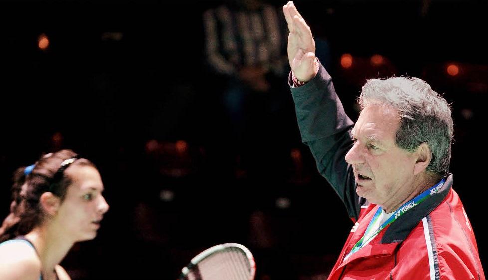 Badmintona Alman antrenör