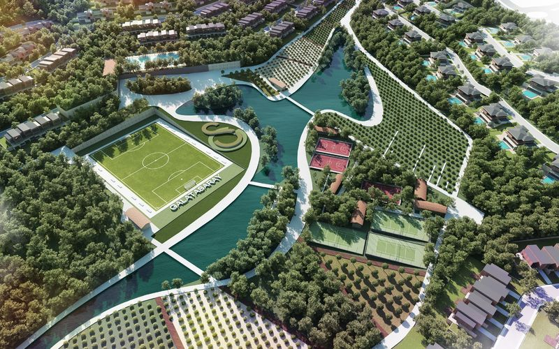 Florya ve Riva'nın satışından Galatasaray'ın kasasına gelen para da 344 milyon TL