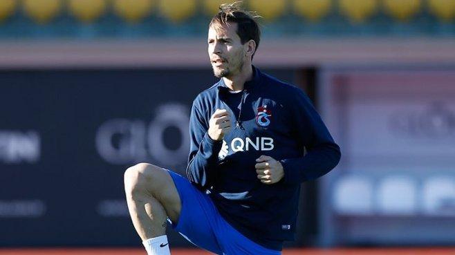 Trabzonspor'da dayanıklık testini Pereira kazandı