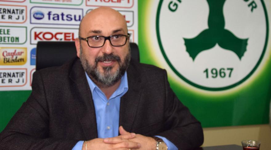 Giresunspor'da teknik direktör arayışları