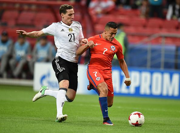 Sanchez tarihe geçti, Almanya ile Şili yenişemedi!