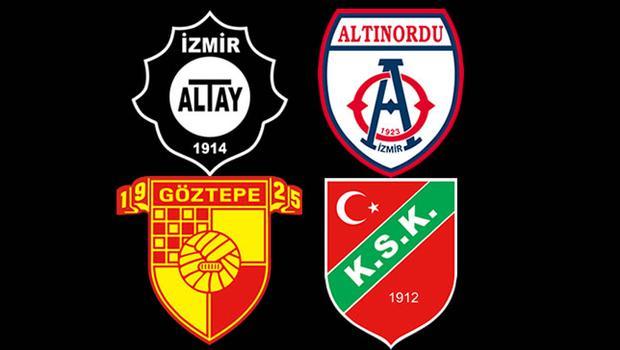 İzmir kulüplerine büyük destek!