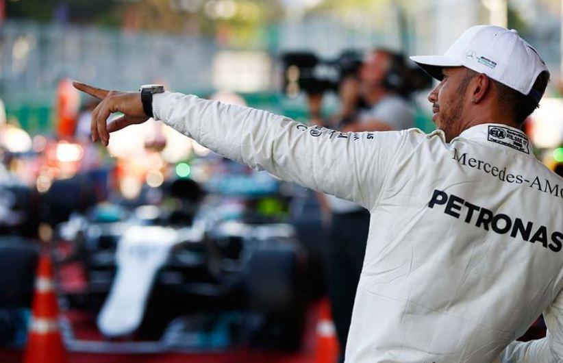 Pole pozisyonu Hamilton'un!