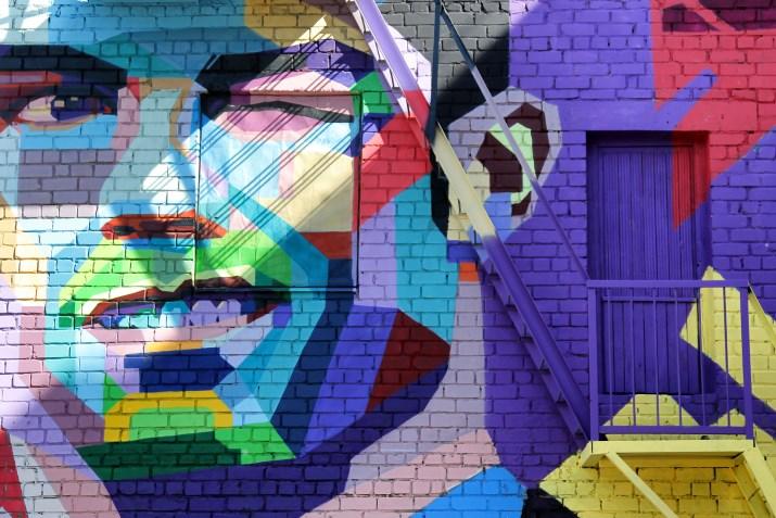 Ronaldo'nun grafitisi dikkat çekiyor