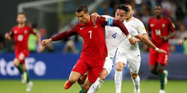 Portekiz - Şili maçını işte böyle izlediler!
