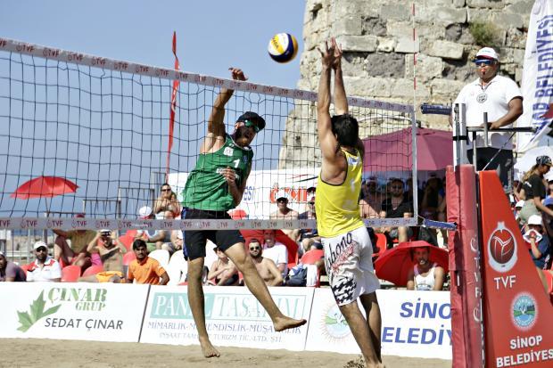 Plaj Voleybolu Kulüpler Ligi final müsabakaları sona erdi