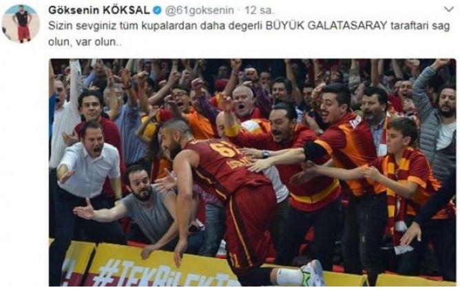 Galatasaray'ın yeni kaptanı konuştu!