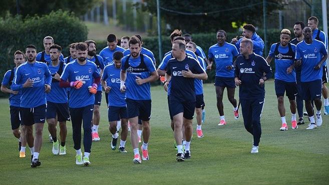 Trabzonspor hazırlıklara devam ediyor!