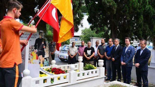 Galatasaray'da Turgay Şeren anıldı