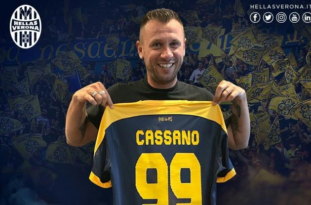 Cassano yine kararını değiştirdi! Bu kez...