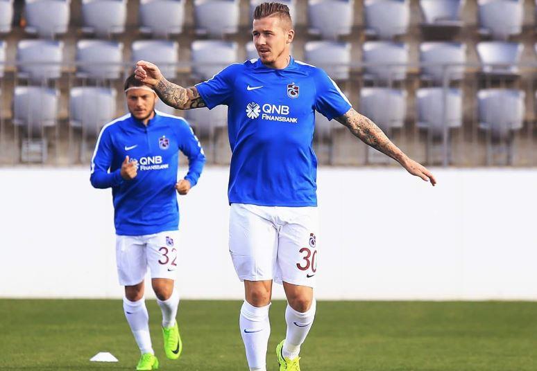 Trabzonspor'un yenileri sahaya indi!