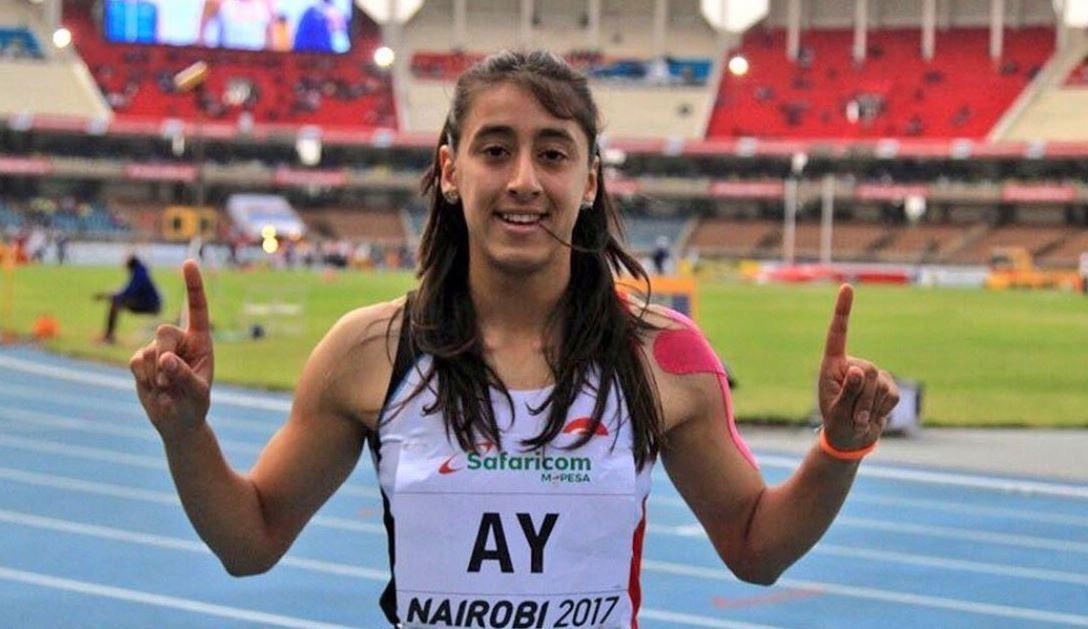 Milli atlet Mizgin Ay, 100 ve 200 metreye hazırlanıyor