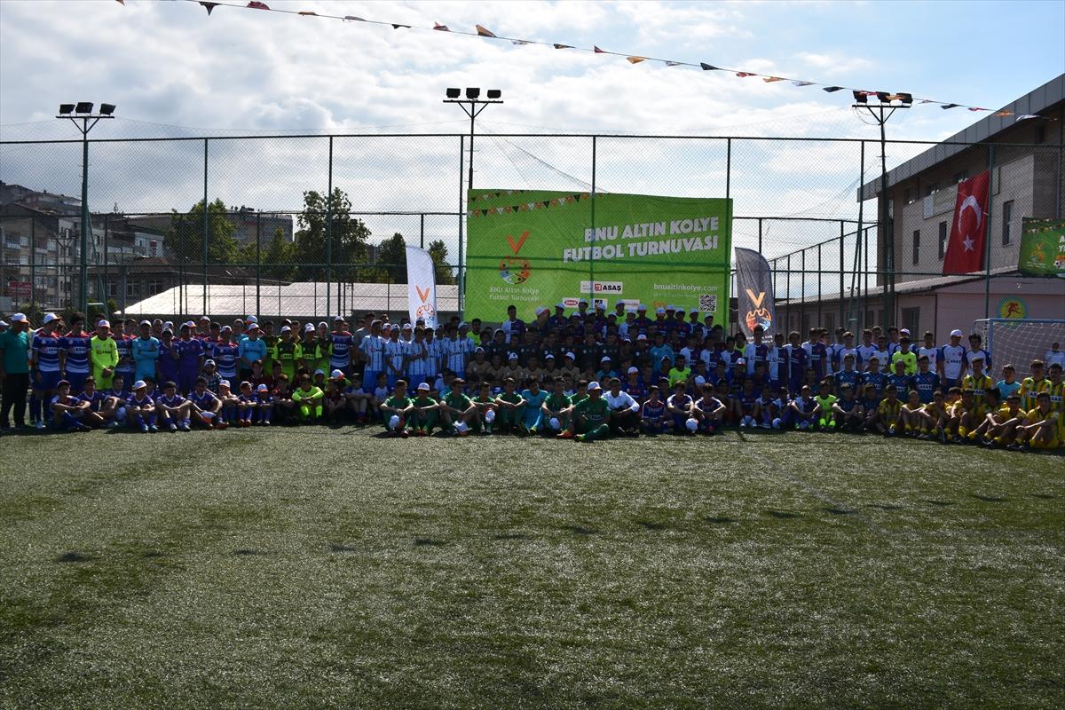 Trabzon'da Altın Kolye Futbol Turnuvası başladı
