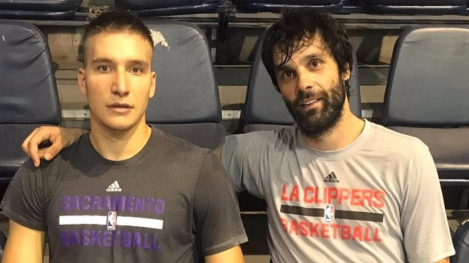 NBA tişörtüyle Eurobasket'e hazırlanıyorlar!