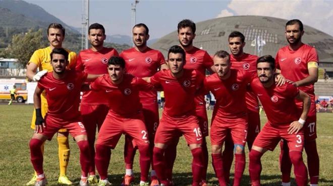 Erkek Milli Futbol Takım finalde!