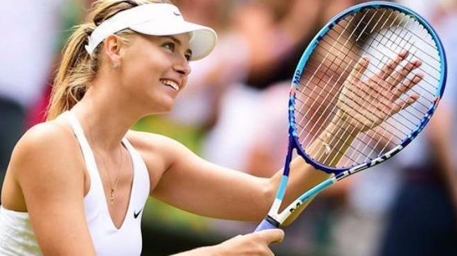 Grigor Dimitrov'dan Maria Sharapova'ya baskın...