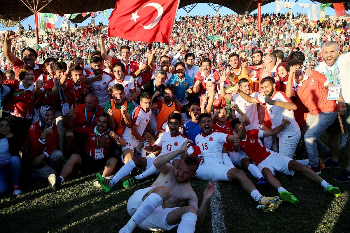 Ve Türkiye olimpiyat şampiyonu!